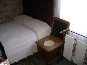 Photo: The commode/night stand. Handy, isn't it?