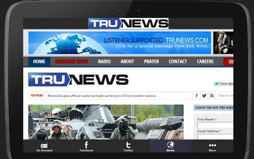 Trunews- screenshot thumbnail