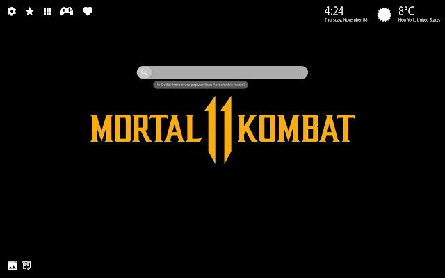 Mortal Kombat 11 Hd Wallpaper Chrome Theme