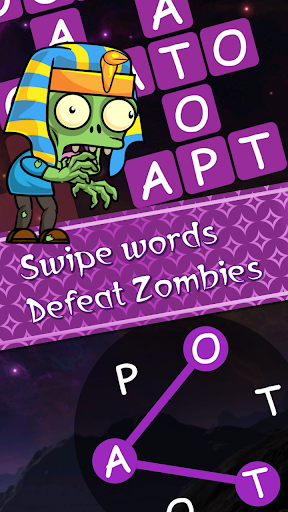 Words vs Zombies - fun word puzzle game android2mod screenshots 1