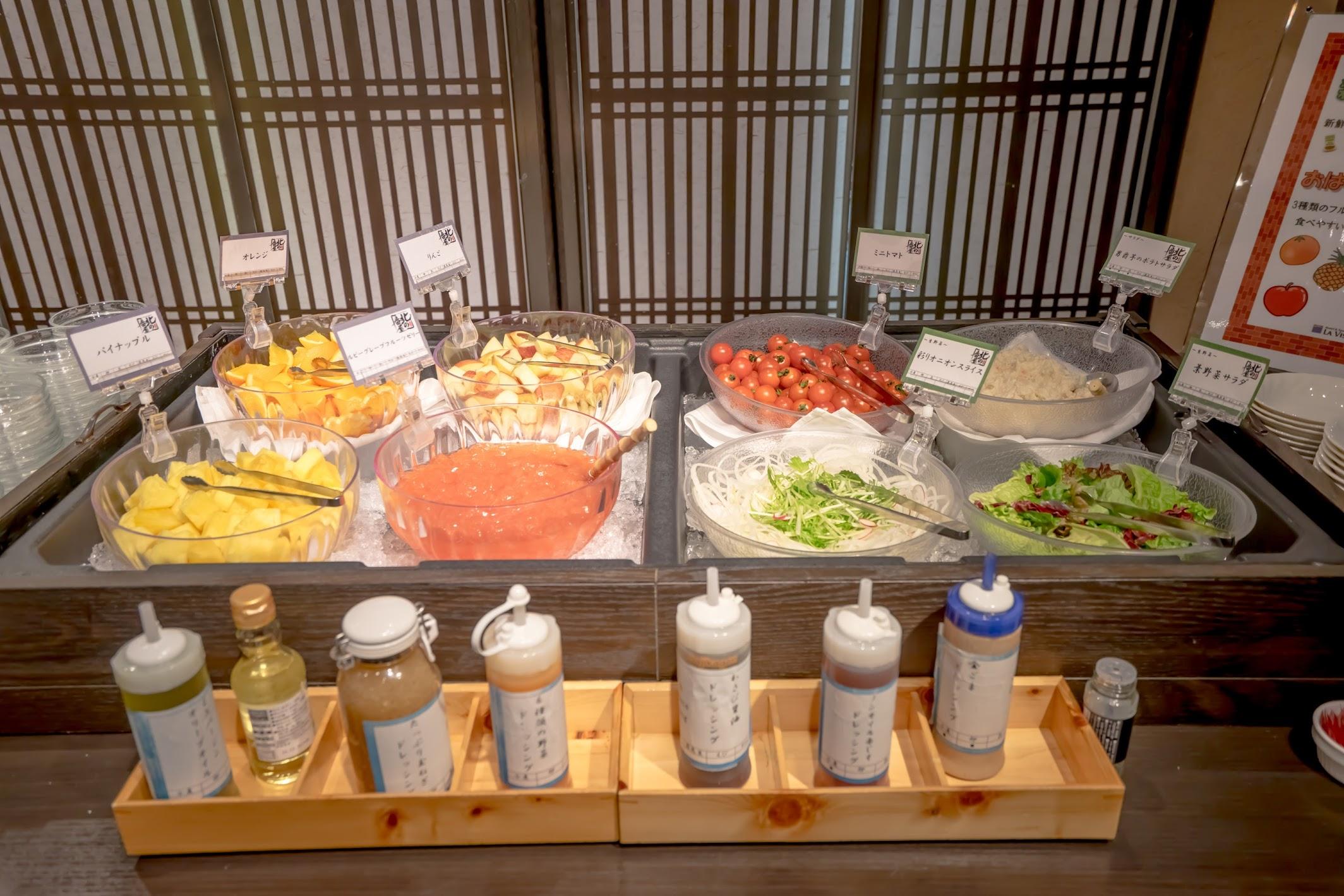 La Vista Hakodate Bay breakfast9