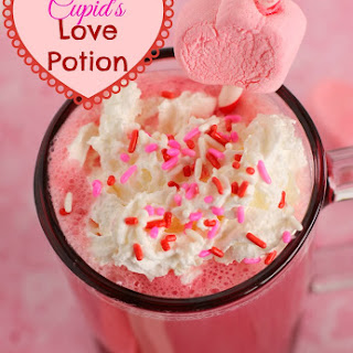 Cupid's Love Potion Valentine's Drink.