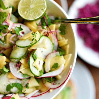 Pickled Mango Cucumber Salad