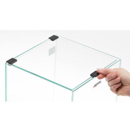 Täckglas Nanoakvarium Smart Svart
