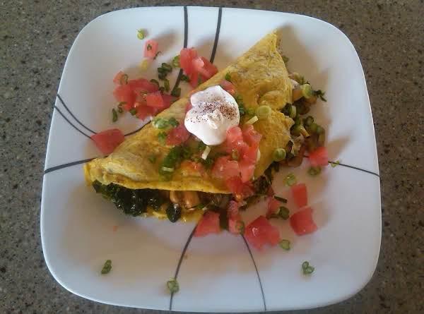 Fresh Veggie Omelet Recipe