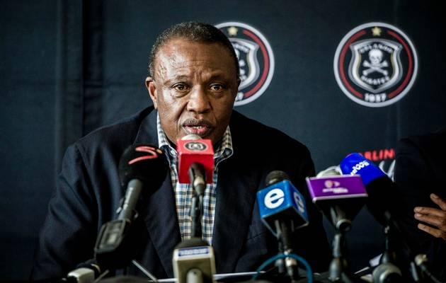 Orlando Pirates boss Irvin Khoza. Picture: GALLO