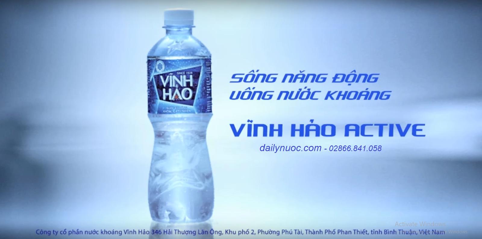 chai nước vĩnh hảo 500ml