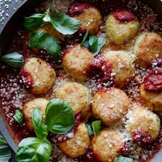 Chicken Parmesan Meatballs.