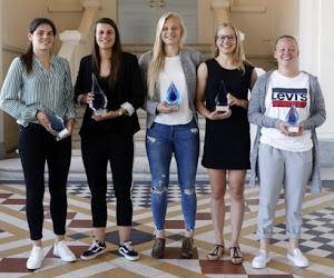 Deux récompenses sur trois: les Anderlechtoises ont dominé le Sparkle 2018
