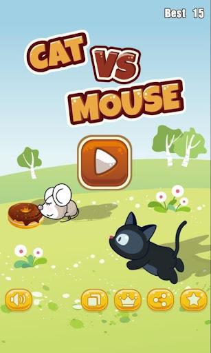 ネコ対戦マウス - Cat vs Mouse