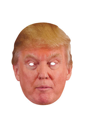 Pappmask, Trump