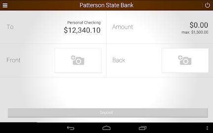Patterson State Bank Mobile Screenshot 15