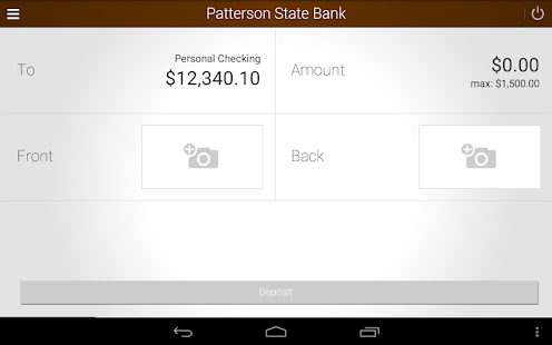 Patterson State Bank Mobile Screenshot 15