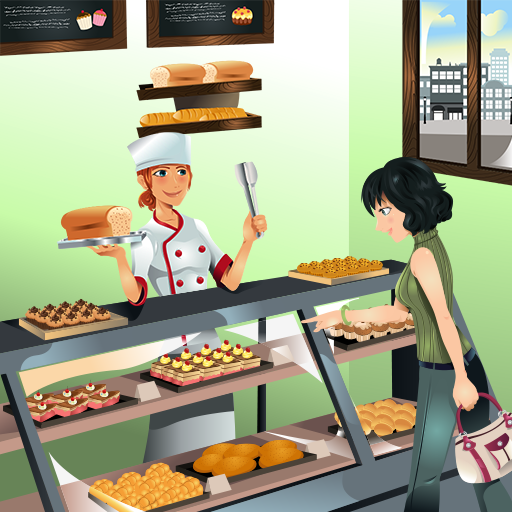 Bakery Shop Business Game (game)