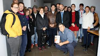 Presentación del libro en la Universidad de Almería.