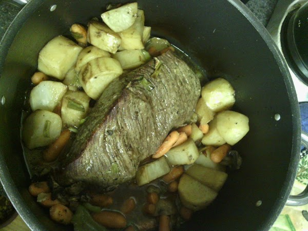 Let roast stand 10 minutes and slice how you want to.