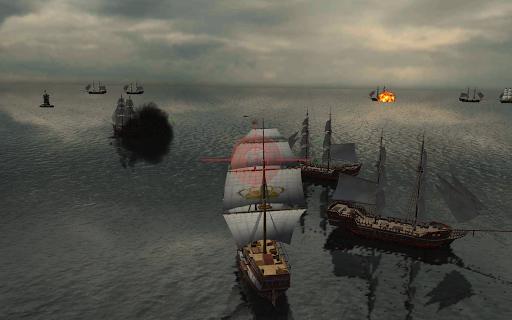 Online Battles : Warship Simulator  captures d'u00e9cran 1