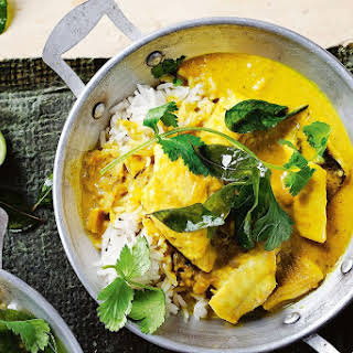 Turmeric And Coconut Fish Curry.