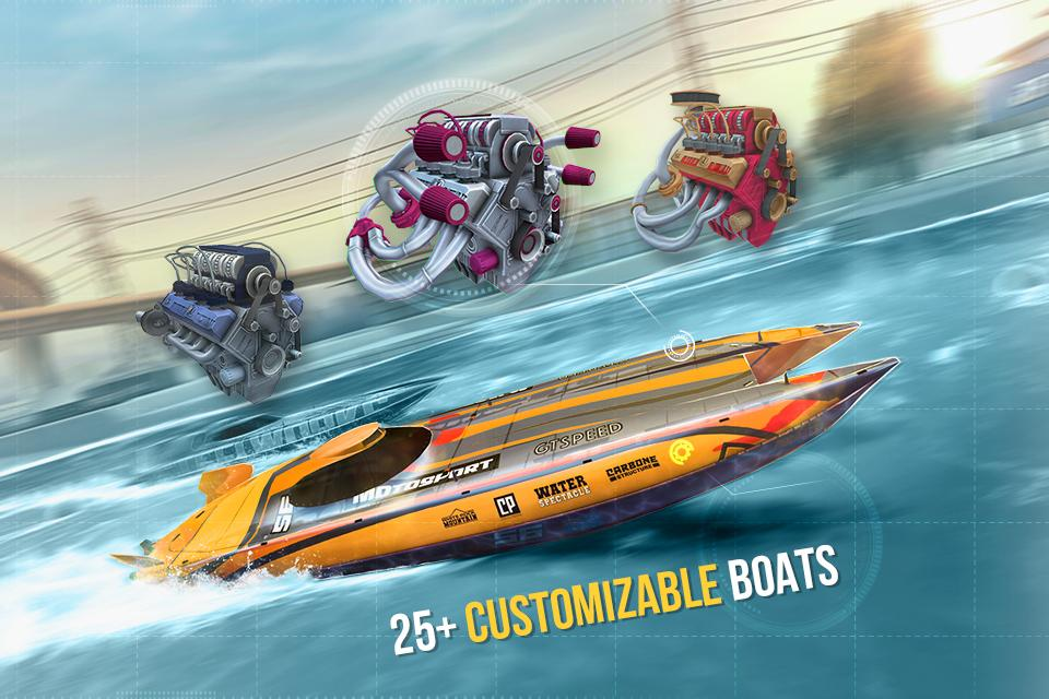 Top Boat: Racing Simulator 3D- screenshot