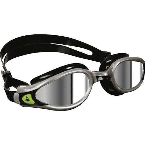 Aqua Sphere Kaiman EXO Goggles: Silver/Black with Mirror Lens
