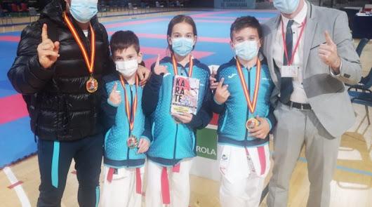 El Club de Kárate Kanku se proclama campeón de España