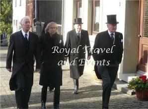 Photo: Prince Karl-Emich zu Leiningen, Fürstin Leonille and Fürst Wolfgang Ernst zu Ysenburg and Büdingen