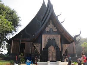 """Photo: The """"Black House"""" is a very eclectic collection of buildings and artwork by another famous Thai artist"""