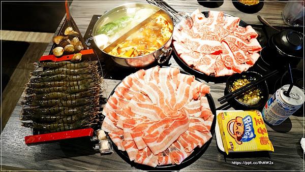 湯正黑潮涮涮/週一至周日肉盤大升級,不吃菜盤也可以換肉,肉食控的最愛,讓你吃到不要不要的