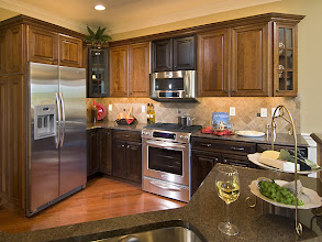 Photo: The kitchen from our STUYVESANT model townhome