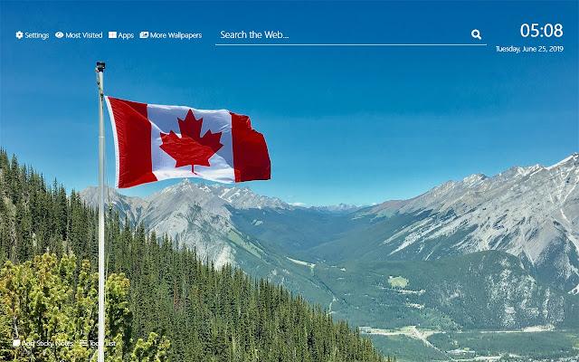 Canada Wallpaper HD New Tab Theme