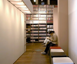 Photo: Stop a moment, and read from the collection at the Kyoto International Manga Museum