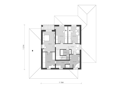 UA32 - Rzut piętra