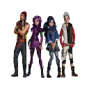 Descendants Wicked World Wallpapers Tab