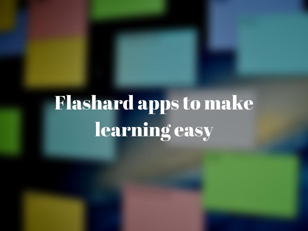 Best Free Flashcard Software Mac