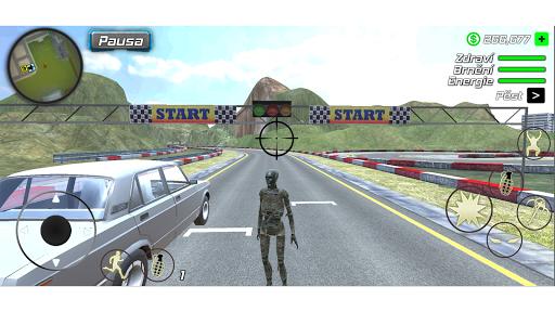 Rope Mummy Crime Simulator: Vegas Hero 1.0.1 screenshots 7
