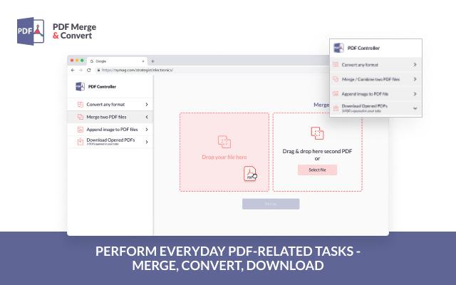 PDF Merge & Convert