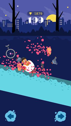 Unicycle Downhill screenshot 3