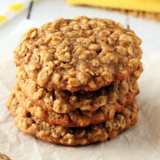 Banana Oatmeal Peanut Butter Cookie