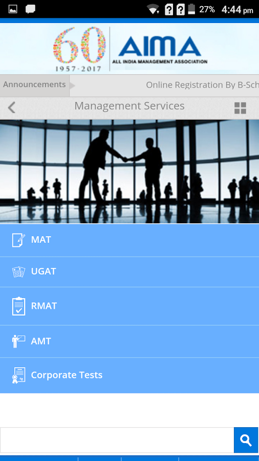 AIMA- screenshot