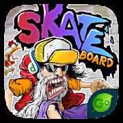 Skate GO Keyboard Theme
