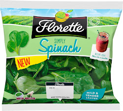 Florette Simply Spinach - 100g