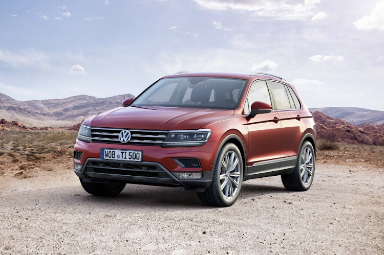 Volkswagen unveils its new Tiguan at the Frankfurt Motor Show 2015. Picture: NEWSPRESS