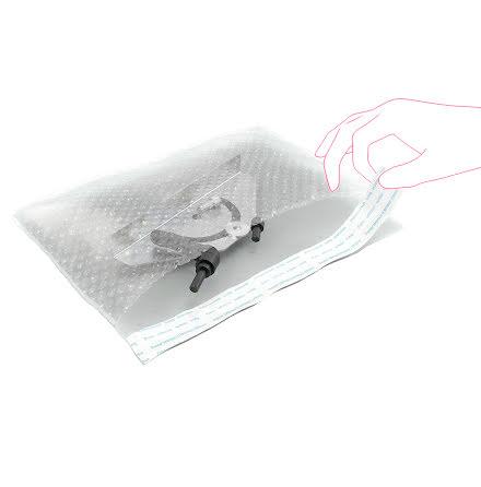 Bubbelfoliepåse 21x30cm 250/fp