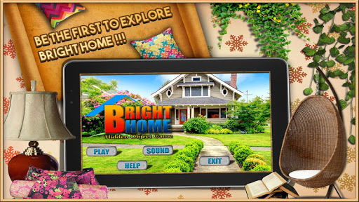 Bright Home Find Hidden Object