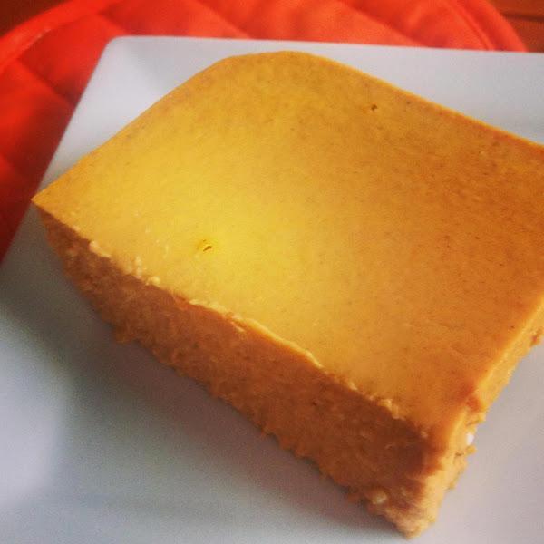 Low Carb Pumpkin Cheesecake Bars Recipe