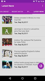 Cricket Live Scores (2017) - náhled