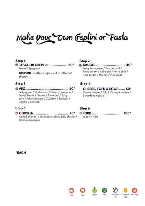 Dcrepes Cafe menu 16