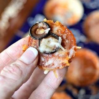 {Low Carb} Mushroom Slice Pizza Bites Recipe