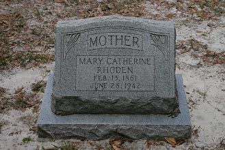 Photo: Mary Catherine Mobley Rhoden daughter of Edward Mobley and Judia Scott / Wife of Isham Robert Rhoden