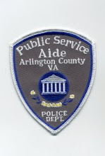 Photo: Arlington County Police, Public Service Aide